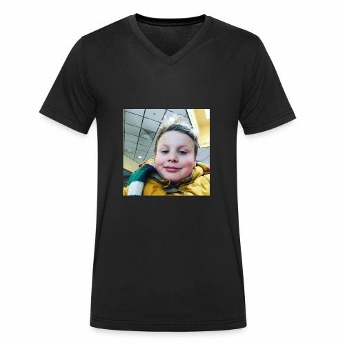 11E24CC7 AE1E 4C0F 9538 23B748128C60 - Mannen bio T-shirt met V-hals van Stanley & Stella