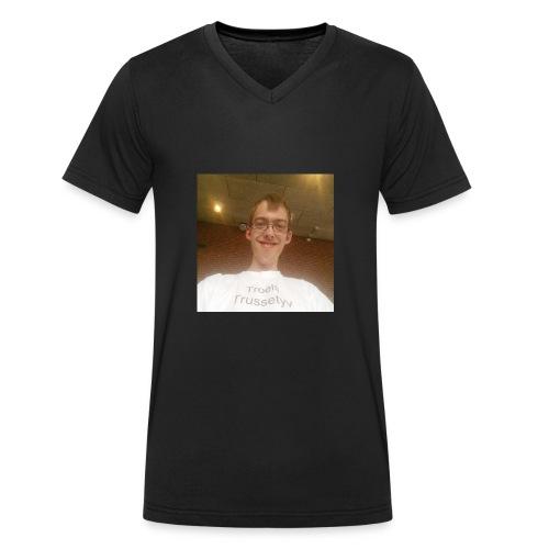 Troels Trussetyv - Økologisk Stanley & Stella T-shirt med V-udskæring til herrer