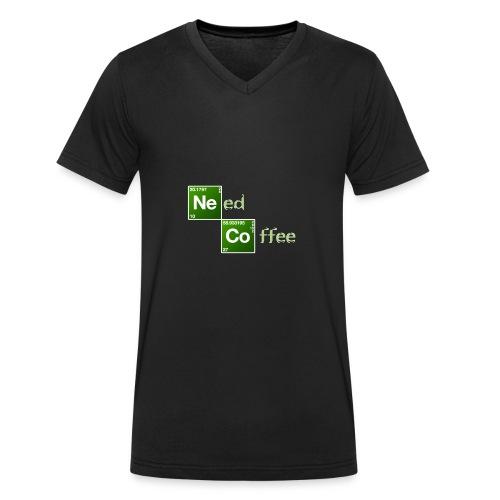 Need Coffee! - Männer Bio-T-Shirt mit V-Ausschnitt von Stanley & Stella
