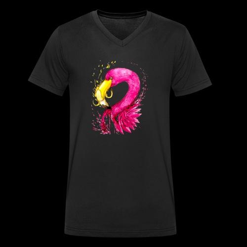 Banaflimmgo - Männer Bio-T-Shirt mit V-Ausschnitt von Stanley & Stella