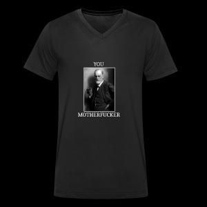 Sigmund Freud MEME - T-shirt bio col V Stanley & Stella Homme