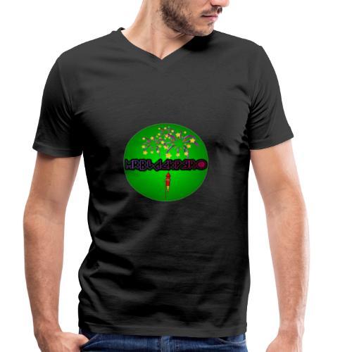 MrBlackPyro - Männer Bio-T-Shirt mit V-Ausschnitt von Stanley & Stella