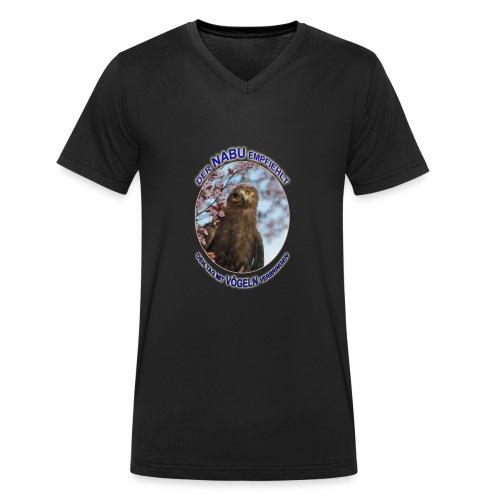 Nabu Adler Vögeln - Männer Bio-T-Shirt mit V-Ausschnitt von Stanley & Stella