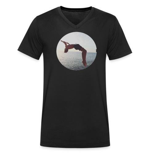 adam woods - Ekologisk T-shirt med V-ringning herr från Stanley & Stella