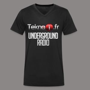logo tekno1 2000x2000 - T-shirt bio col V Stanley & Stella Homme