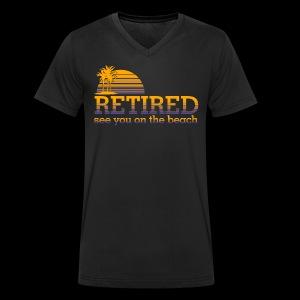 Retraite - T-shirt bio col V Stanley & Stella Homme