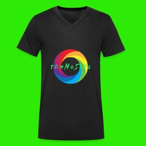 Hauptlogo tOmMoSiUs - Männer Bio-T-Shirt mit V-Ausschnitt von Stanley & Stella