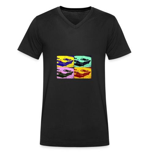 70er Torino War - Männer Bio-T-Shirt mit V-Ausschnitt von Stanley & Stella