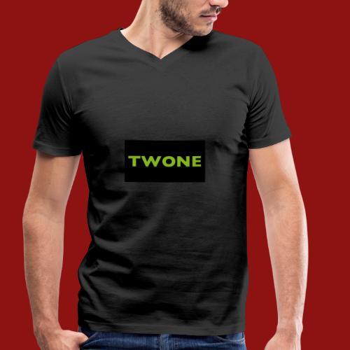 Twone - Männer Bio-T-Shirt mit V-Ausschnitt von Stanley & Stella