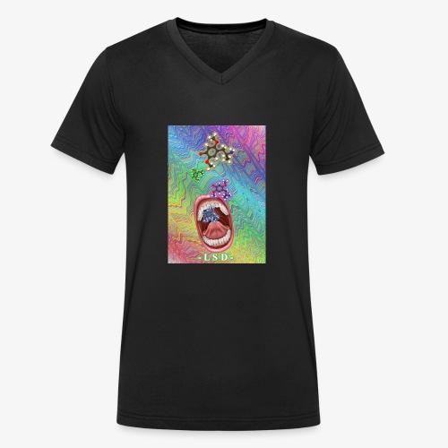 acide lysergique - T-shirt bio col V Stanley & Stella Homme