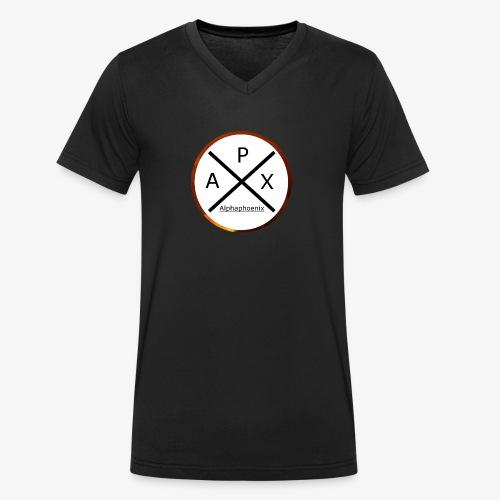 Alphaphoenix logo - Männer Bio-T-Shirt mit V-Ausschnitt von Stanley & Stella
