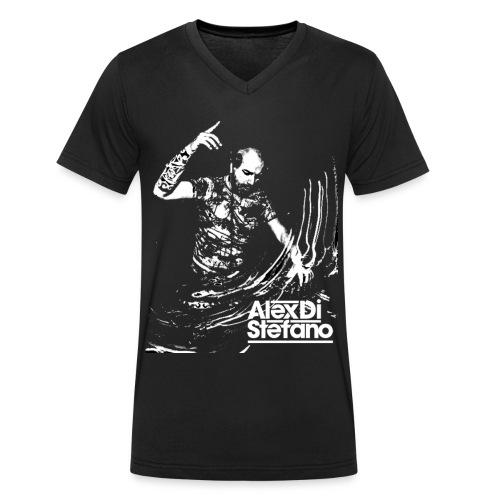 alex2 - Mannen bio T-shirt met V-hals van Stanley & Stella