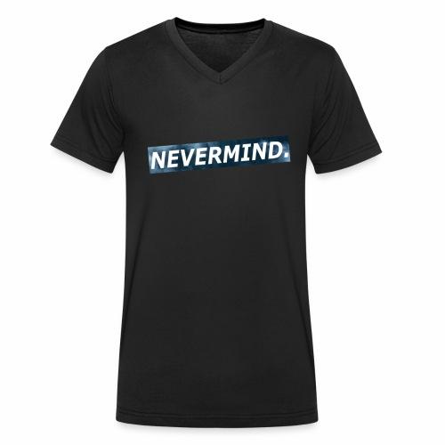 NEVERMIND-Design - Männer Bio-T-Shirt mit V-Ausschnitt von Stanley & Stella