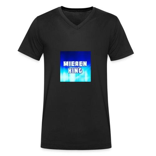 Mieren king - Mannen bio T-shirt met V-hals van Stanley & Stella