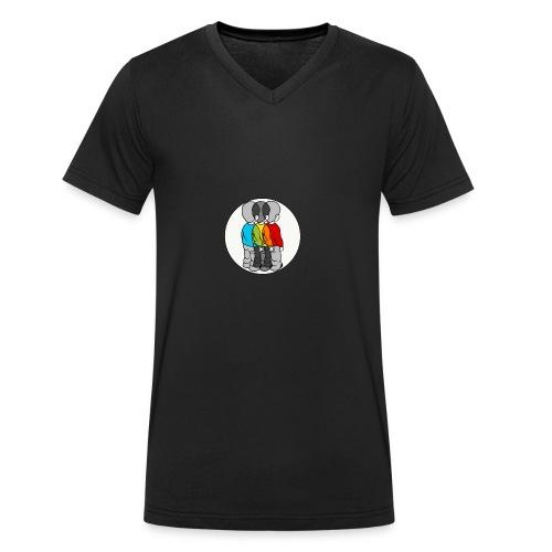 Roygbiv - Men's Organic V-Neck T-Shirt by Stanley & Stella