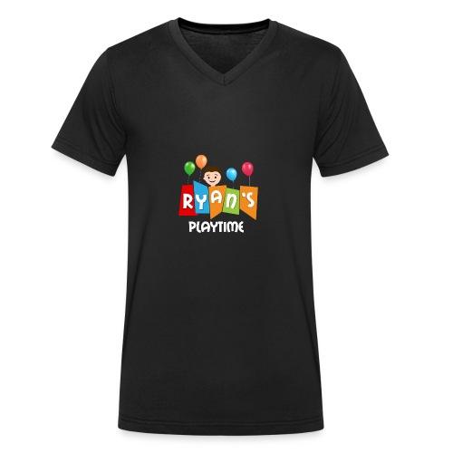 Playtime with Ryan - Men's Organic V-Neck T-Shirt by Stanley & Stella