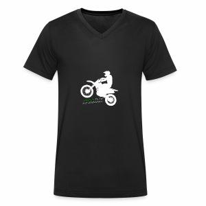 Green Team Szemzdrowo Zapraszam do kupna - Ekologiczna koszulka męska z dekoltem w serek Stanley & Stella
