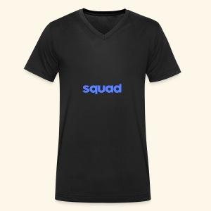 squad kleding - Mannen bio T-shirt met V-hals van Stanley & Stella
