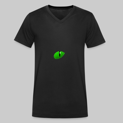 BlackCatHDe Logo - Männer Bio-T-Shirt mit V-Ausschnitt von Stanley & Stella