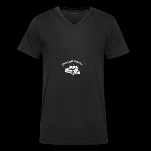 Watergun Summer - Männer Bio-T-Shirt mit V-Ausschnitt von Stanley & Stella