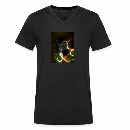 ILIMIT405 - Camiseta ecológica hombre con cuello de pico de Stanley & Stella