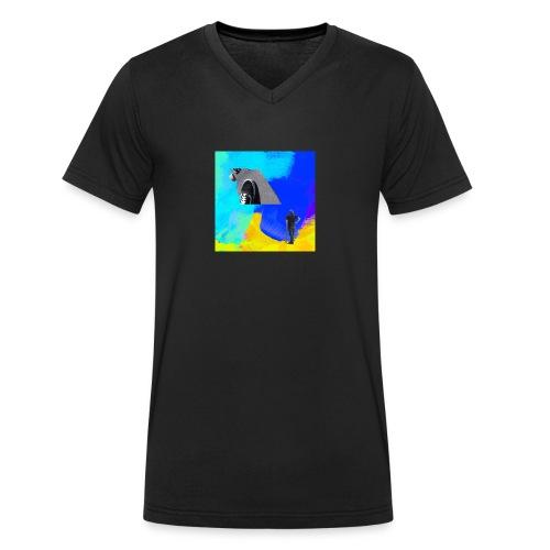 1503428654848 - Männer Bio-T-Shirt mit V-Ausschnitt von Stanley & Stella