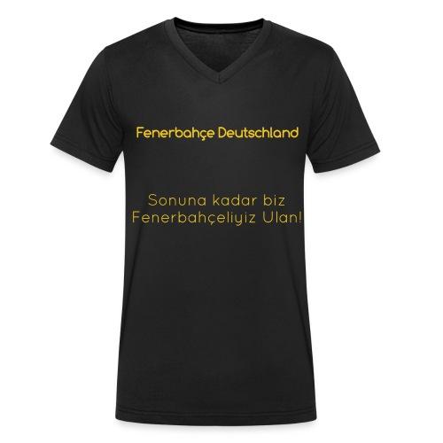 Fenerbahçe Deutschland - Männer Bio-T-Shirt mit V-Ausschnitt von Stanley & Stella