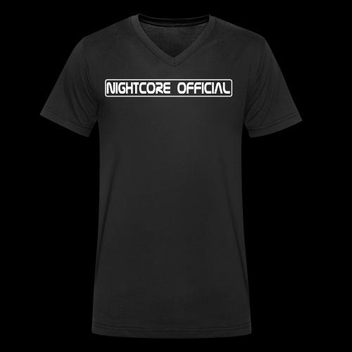 NightCore Official - Männer Bio-T-Shirt mit V-Ausschnitt von Stanley & Stella