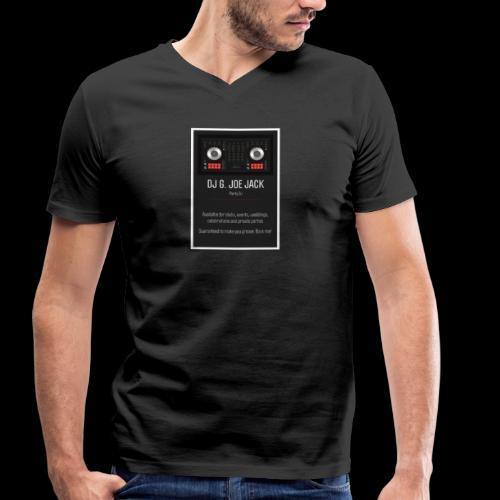 DJ G JOE JACK - PARTY DJ - Männer Bio-T-Shirt mit V-Ausschnitt von Stanley & Stella