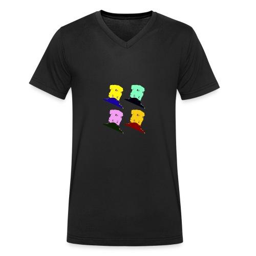 alpajonas - Männer Bio-T-Shirt mit V-Ausschnitt von Stanley & Stella