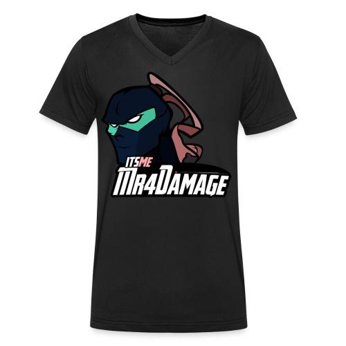 ItsMeMr4Damage - Mannen bio T-shirt met V-hals van Stanley & Stella