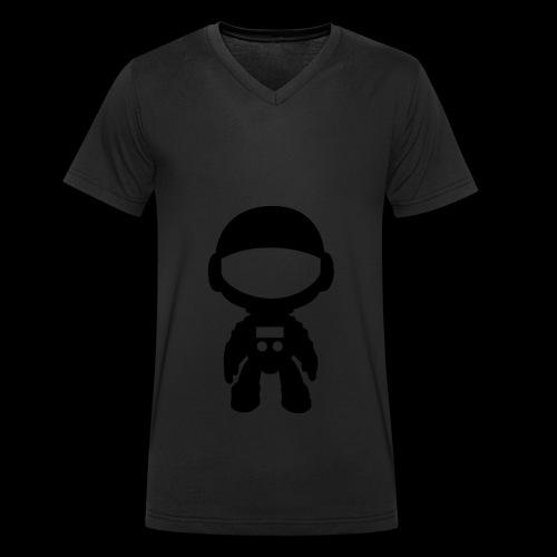 Haustronaut - only 01 - Men's Organic V-Neck T-Shirt by Stanley & Stella