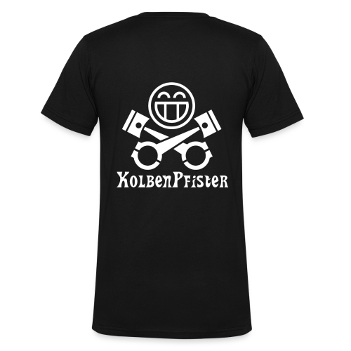 KolbenPfister Standart - Männer Bio-T-Shirt mit V-Ausschnitt von Stanley & Stella