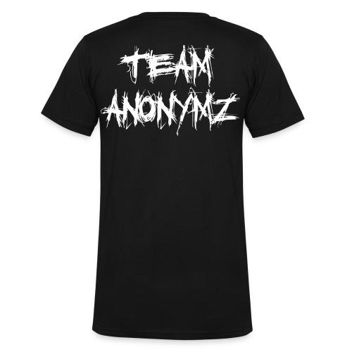 Team Anonymz - Männer Bio-T-Shirt mit V-Ausschnitt von Stanley & Stella