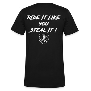 Ridin dirty - Men's Organic V-Neck T-Shirt by Stanley & Stella