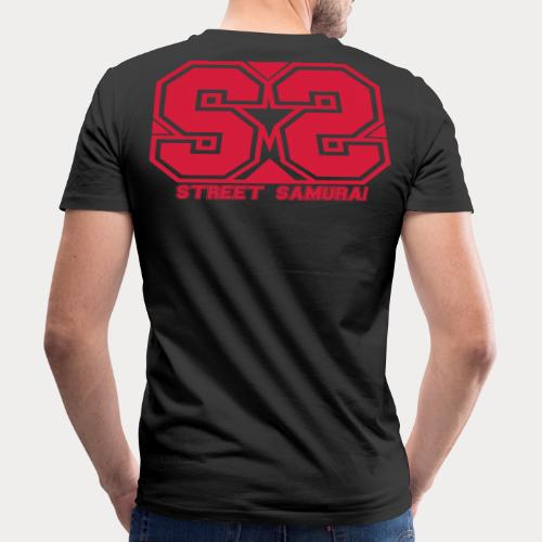 SS Streetsamurai STAR - Männer Bio-T-Shirt mit V-Ausschnitt von Stanley & Stella