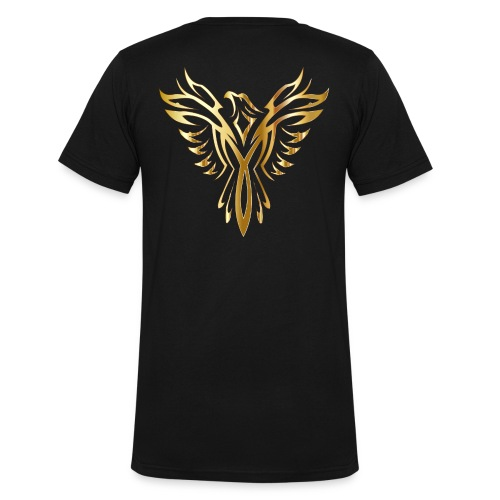 phoenix gold ultimate - Men's Organic V-Neck T-Shirt by Stanley & Stella