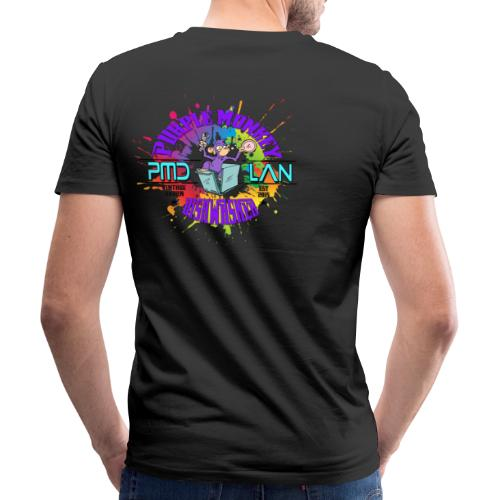 PMD Colour Burst - Men's Organic V-Neck T-Shirt by Stanley & Stella