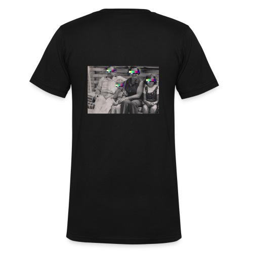 FAMILY - Männer Bio-T-Shirt mit V-Ausschnitt von Stanley & Stella