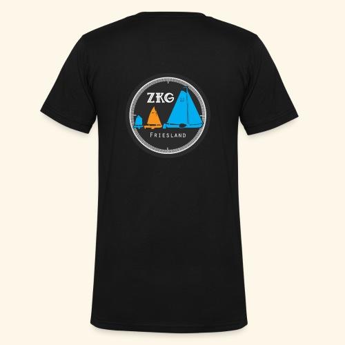 ZKGFriesland - Mannen bio T-shirt met V-hals van Stanley & Stella