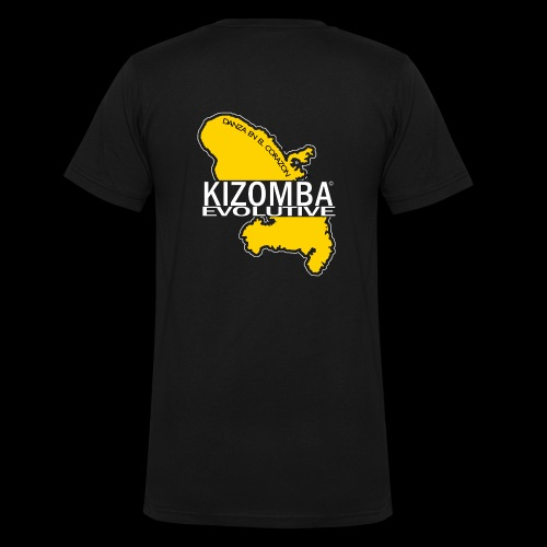 kizomba dos - T-shirt bio col V Stanley & Stella Homme
