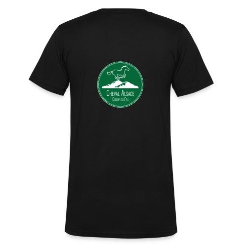 CHEVAL ALSACE- logo - T-shirt bio col V Stanley & Stella Homme