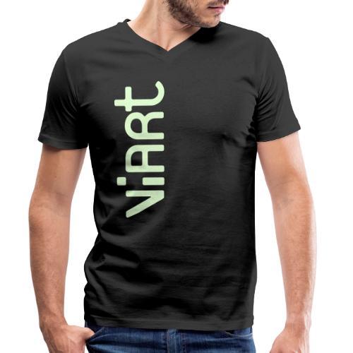 ViArt Logo - Männer Bio-T-Shirt mit V-Ausschnitt von Stanley & Stella