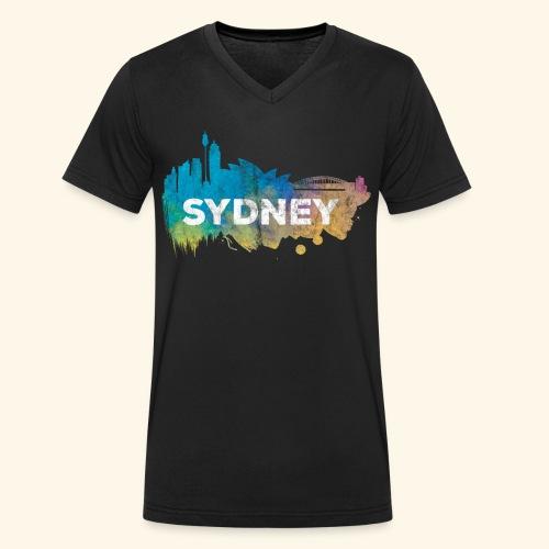 Sydney - Männer Bio-T-Shirt mit V-Ausschnitt von Stanley & Stella