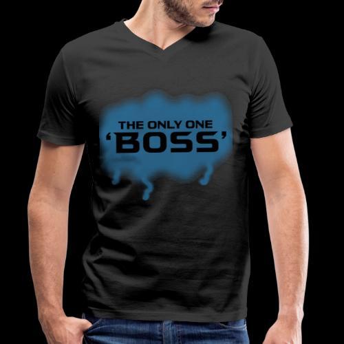 the only one BOSS - Männer Bio-T-Shirt mit V-Ausschnitt von Stanley & Stella