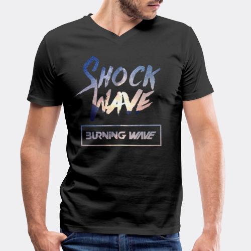 Burning Wave - Shock Wave - T-shirt bio col V Stanley & Stella Homme