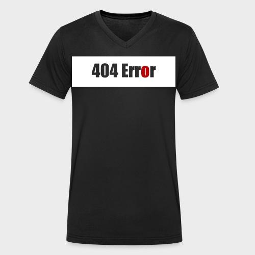 404 Error - Männer Bio-T-Shirt mit V-Ausschnitt von Stanley & Stella