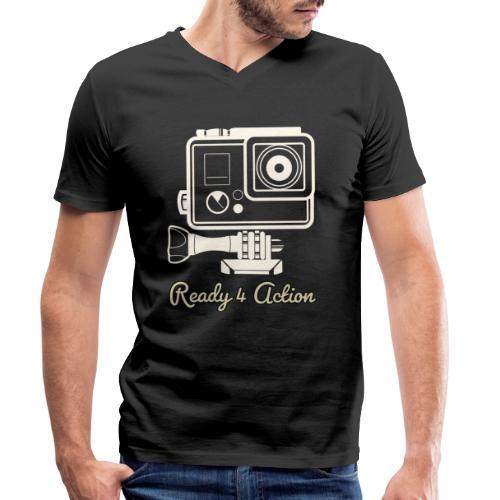 Ready 4 Action - Männer Bio-T-Shirt mit V-Ausschnitt von Stanley & Stella