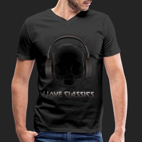 I love classics Black - T-shirt bio col V Stanley & Stella Homme