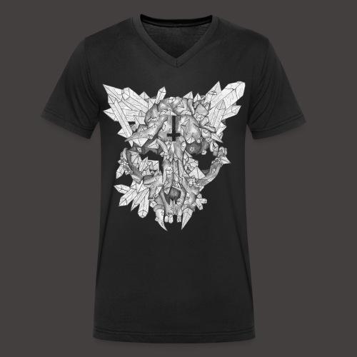 Le Chat de Cristal - T-shirt bio col V Stanley & Stella Homme